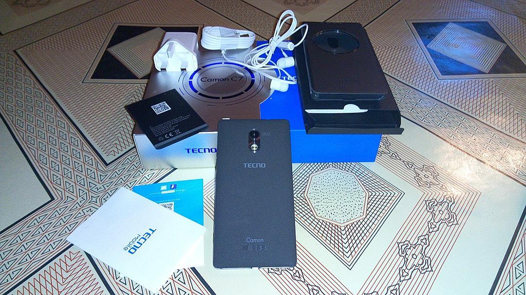 Tecno Camon C7 Unboxing