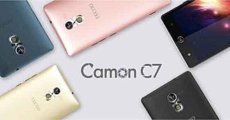 Colors of the camon c7